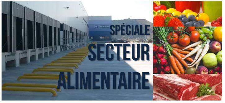 niveleur de quai secteur alimentaire