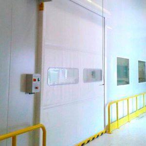 portes industrielles rapides