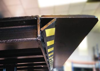 niveleur de quai télescopique-rampe de chargement