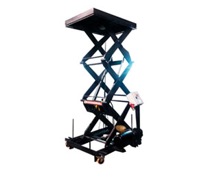 Tables avec double ciseaux vertical ou horizontale